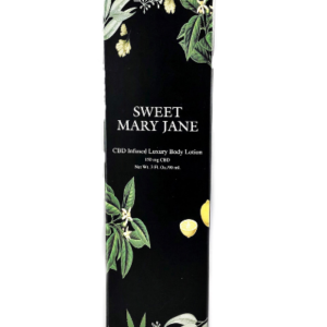 Sweet Mary Jane CBD Infused Body Lotion