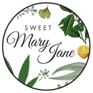 sweet mary jane cbd logo